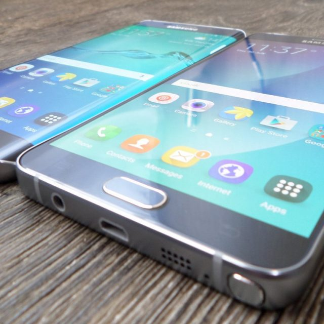 Samsung Galaxy Note 5 и Samsung Galaxy S6 edge+