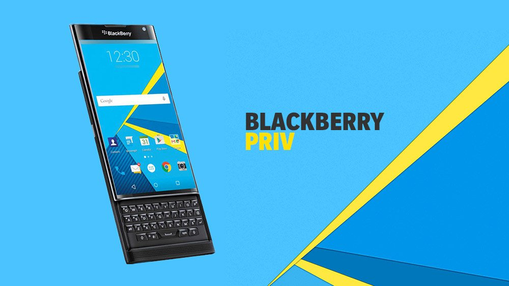 BlackBerry Priv показали на видео
