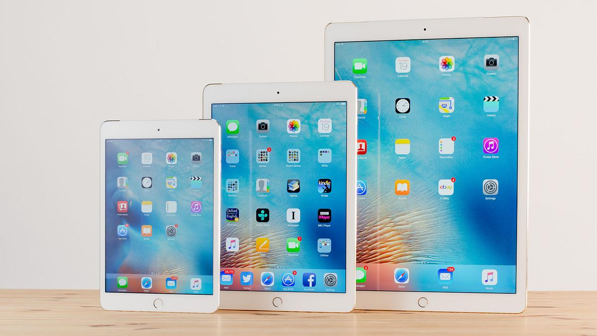 Apple iPad Air, iPad mini, iPad Pro